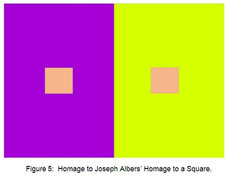 Figure 5: Homage to Albers Homage to a Square